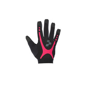 Cube Race Touch WLS Gloves Longfinger Dame black'n'raspberry'n'anthracite